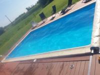 Réalisation d'une piscine, par l'entreprise OZENBAT, à Bretteville du Grand Caux