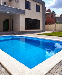 Travaux création piscine